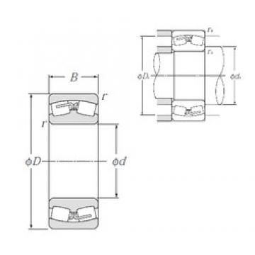 110 mm x 180 mm x 69 mm  NTN 24122B Spherical Roller Bearings